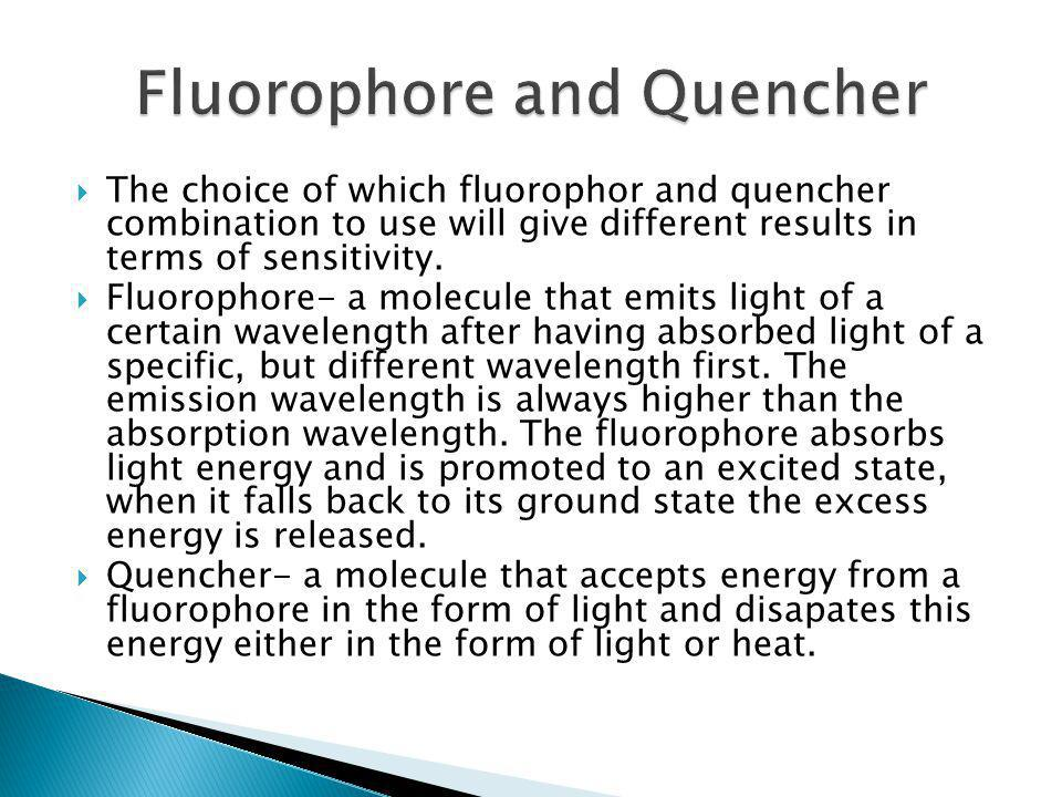 Fluorophore and Quencher