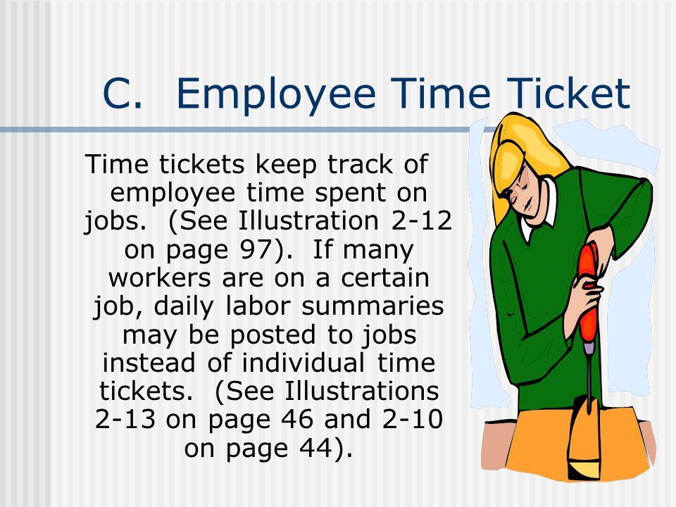 C. Employee Time Ticket