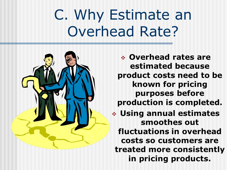 C. Why Estimate an Overhead Rate