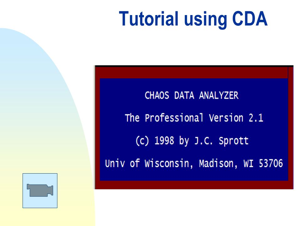 Tutorial using CDA