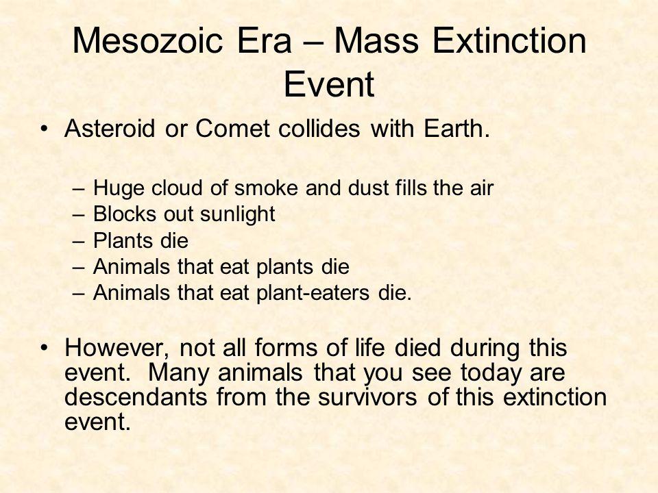 Mesozoic Era – Mass Extinction Event