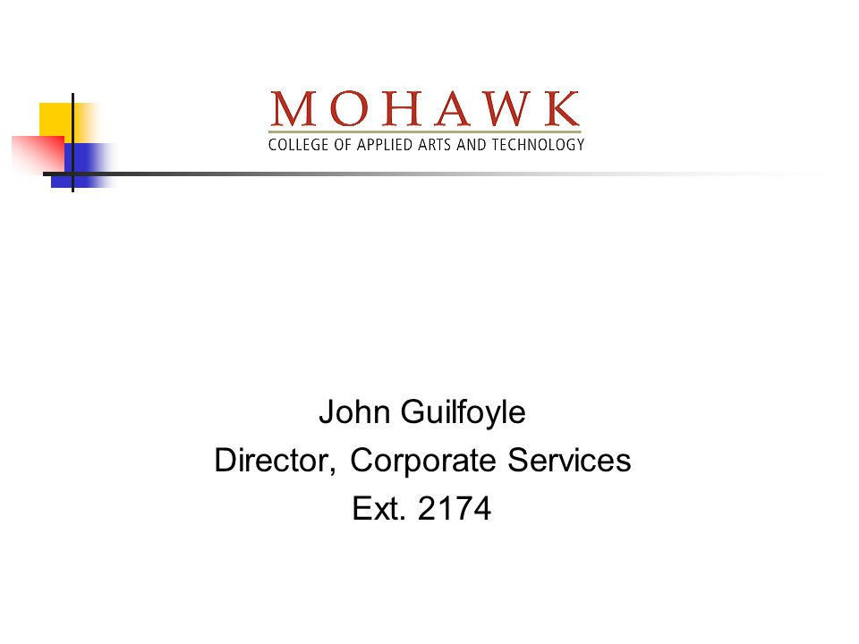 Director, Corporate Services