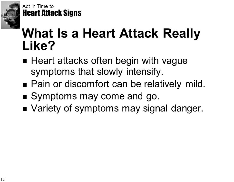 What Is a Heart Attack Really Like