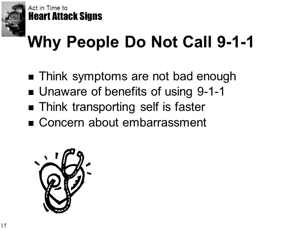 Why People Do Not Call 9-1-1