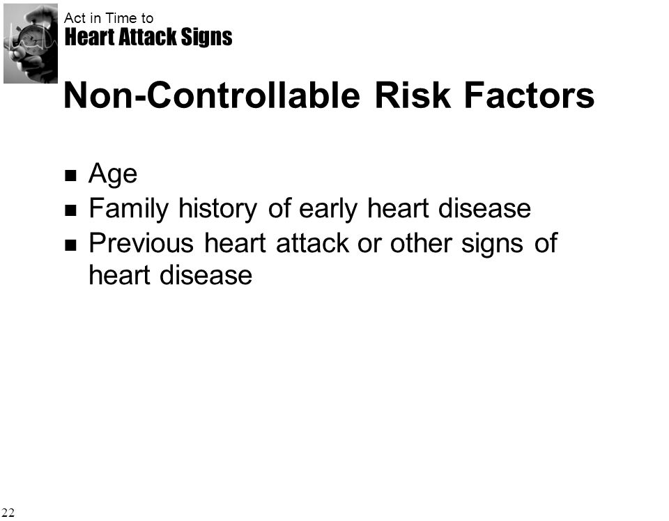 Non-Controllable Risk Factors