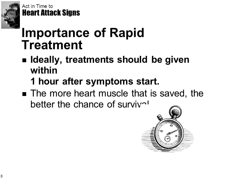 Importance of Rapid Treatment