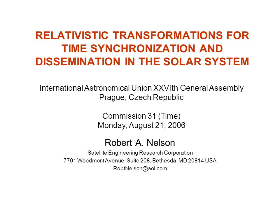 RELATIVISTIC TRANSFORMATIONS FOR TIME SYNCHRONIZATION AND DISSEMINATION IN THE SOLAR SYSTEM
