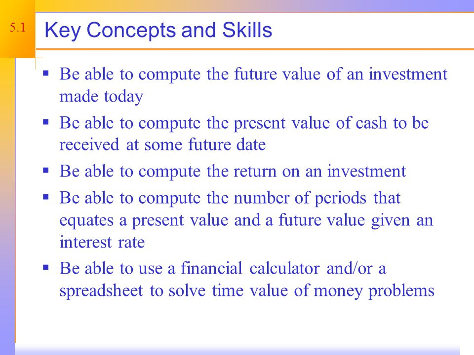 Chapter Outline Future Value and Compounding. Present Value and Discounting.