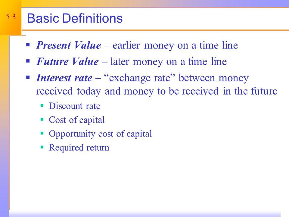 Future Value – Example 1 – 5.1