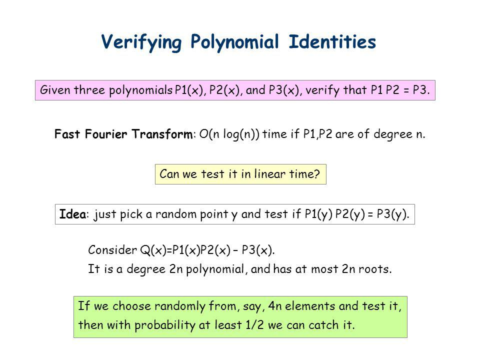 Verifying Polynomial Identities