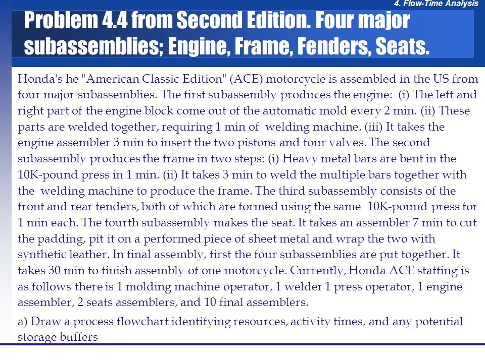 Problem 4. 4 from Second Edition