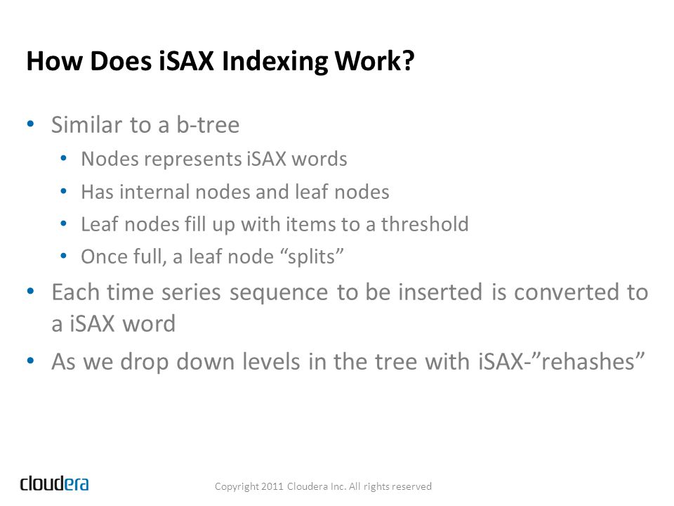 How Does iSAX Indexing Work