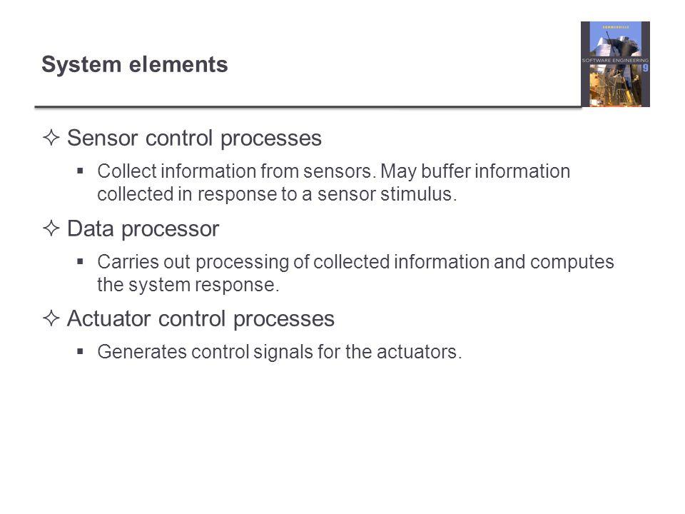 Sensor control processes
