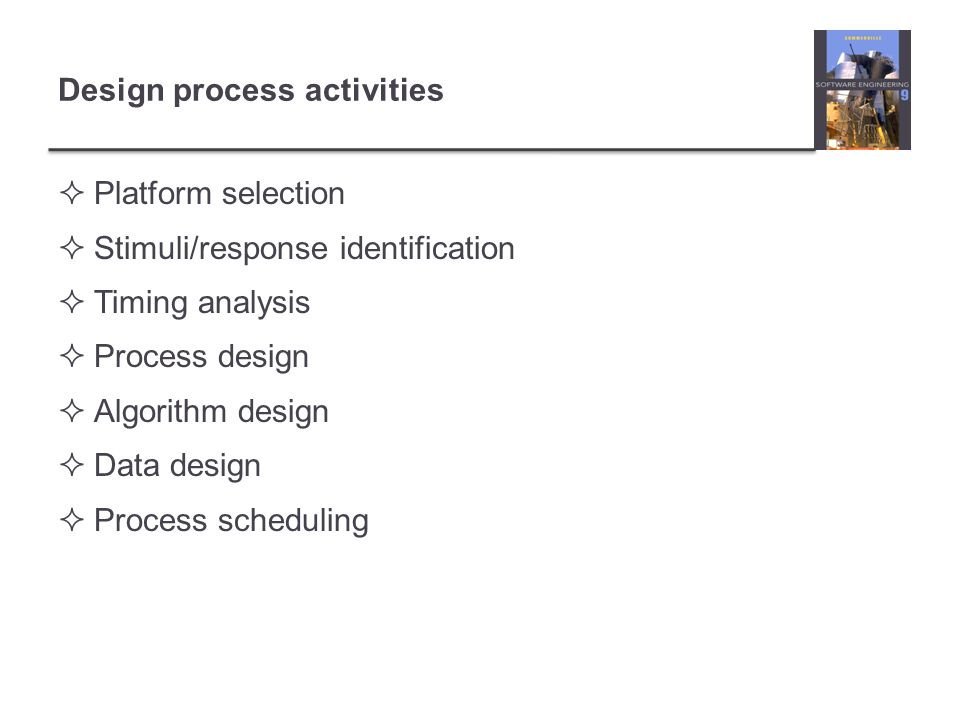 Design process activities