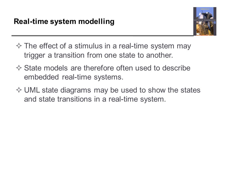 Real-time system modelling