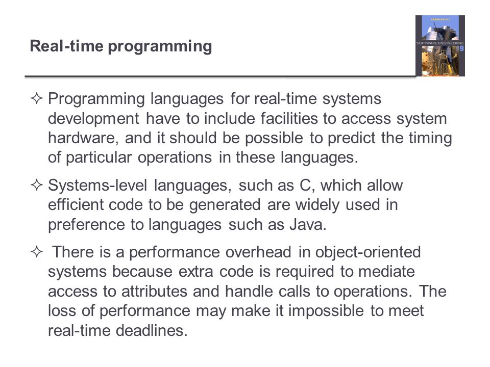 Real-time programming