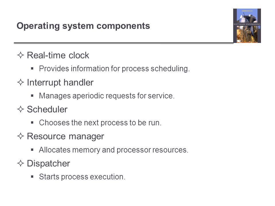 Operating system components