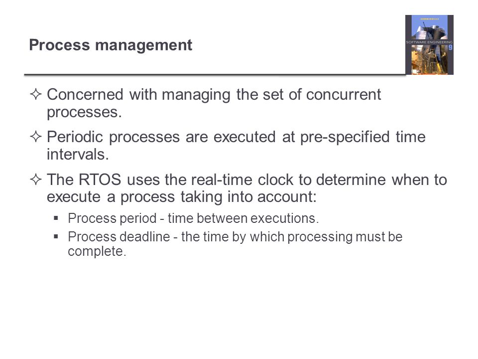 Concerned with managing the set of concurrent processes.