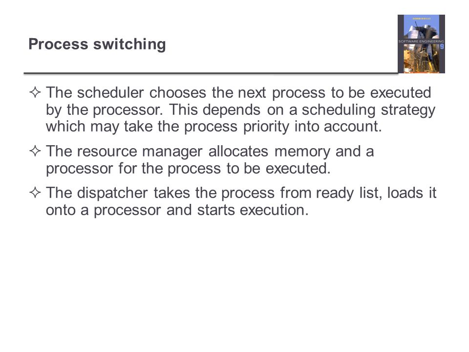 Process switching
