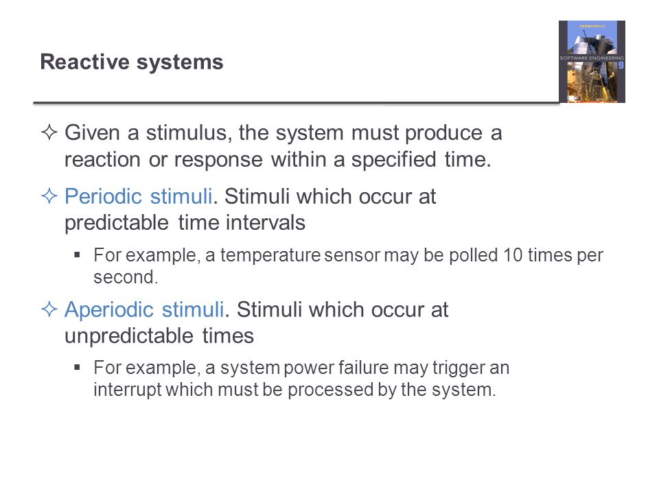 Periodic stimuli. Stimuli which occur at predictable time intervals
