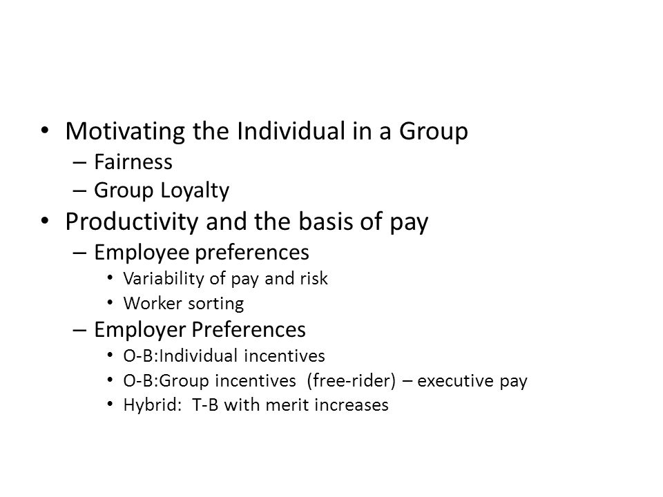 Pay and Performance Employment Contract Motivating workers ppt – Executive Employment Contract