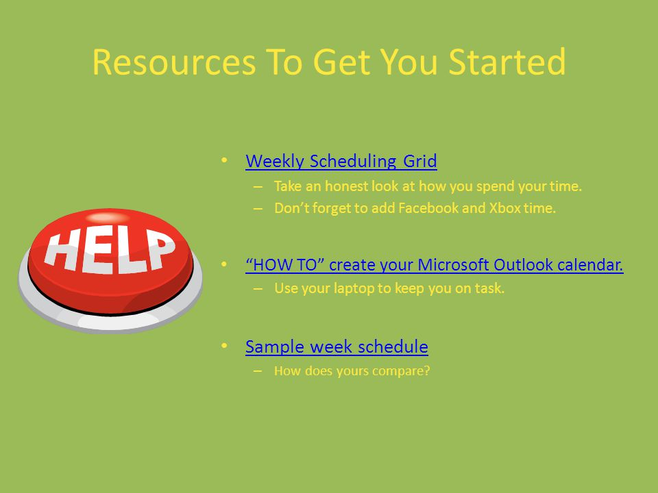 Resources To Get You Started