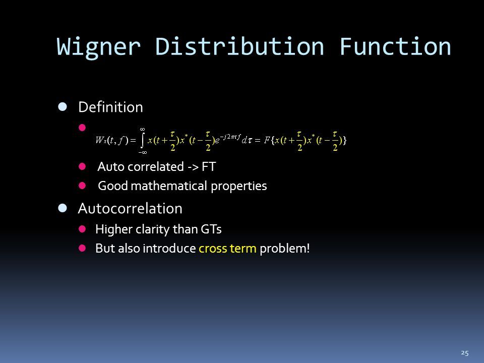 Wigner Distribution Function