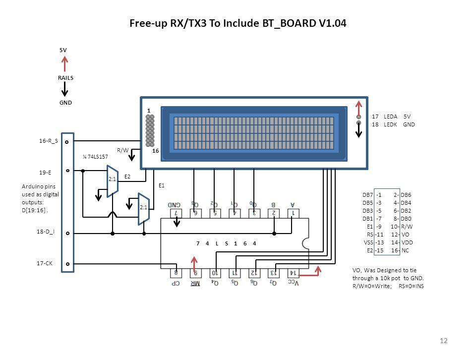 Free-up RX/TX3 To Include BT_BOARD V1.04