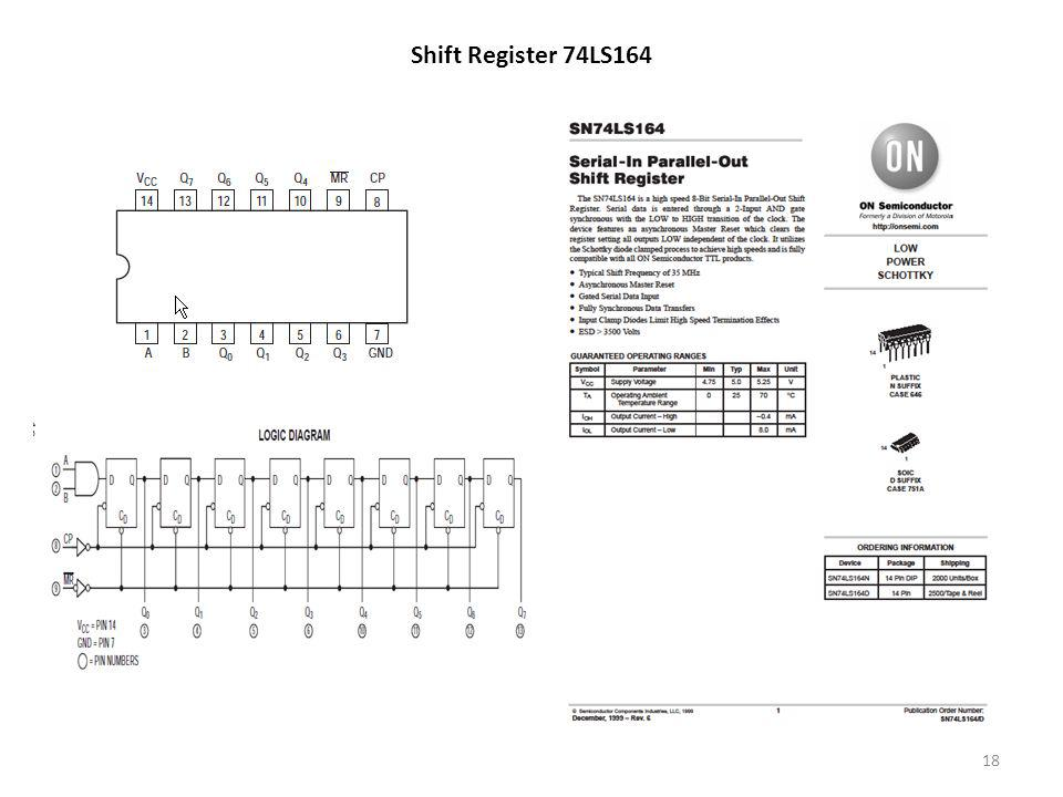 Shift Register 74LS164