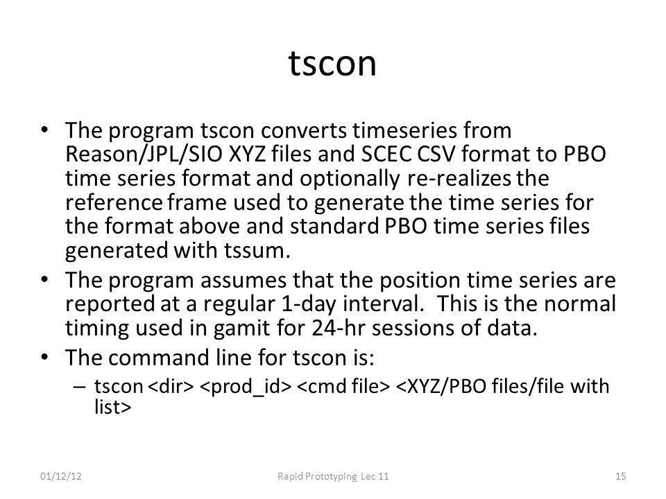 tscon
