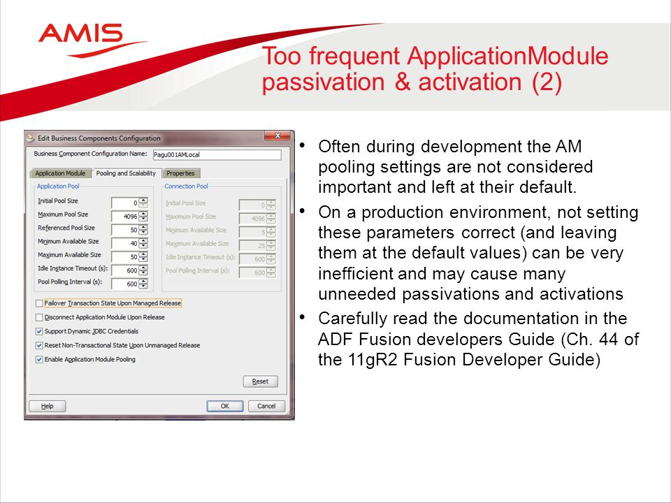 Too frequent ApplicationModule passivation & activation (2)