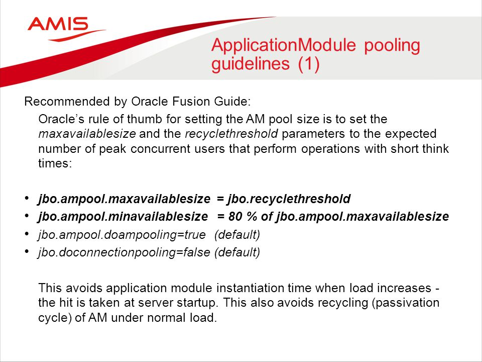 ApplicationModule pooling guidelines (1)