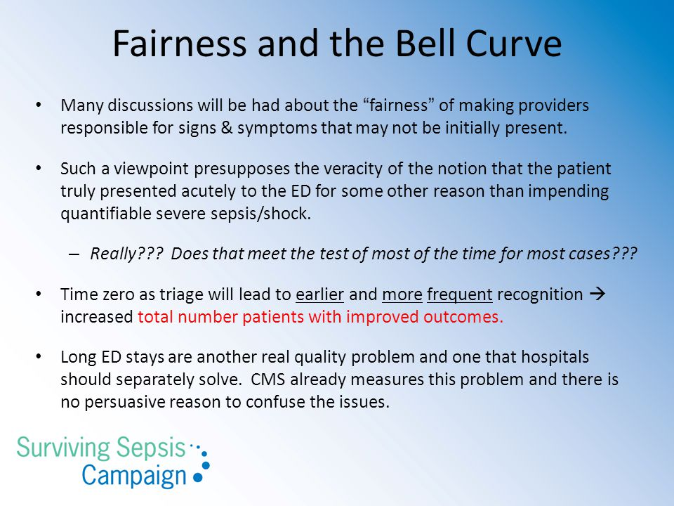 Fairness and the Bell Curve