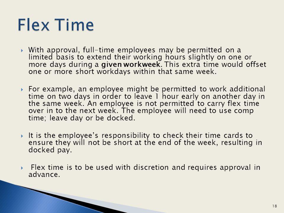 Flex Time