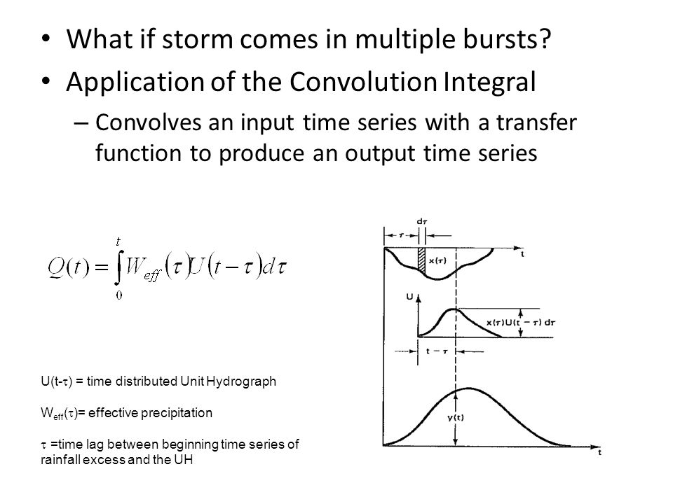 What if storm comes in multiple bursts