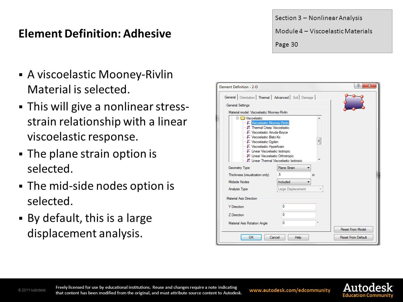 Element Definition: Adhesive