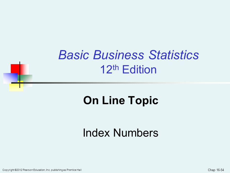 On Line Topic Index Numbers