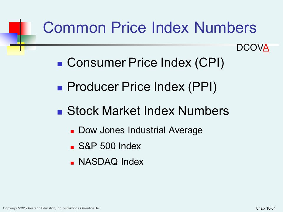 Common Price Index Numbers
