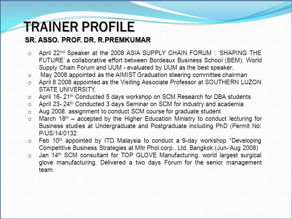 SR. ASSO. PROF. DR. R.PREMKUMAR