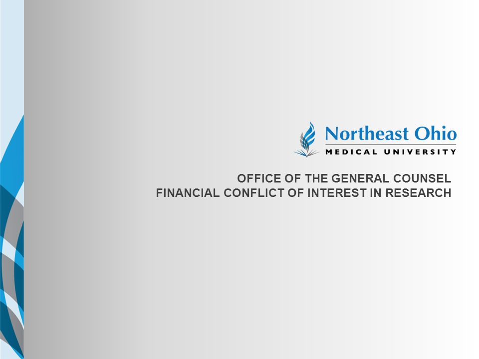 NEOMED TEMPLATE Office of the general counsel