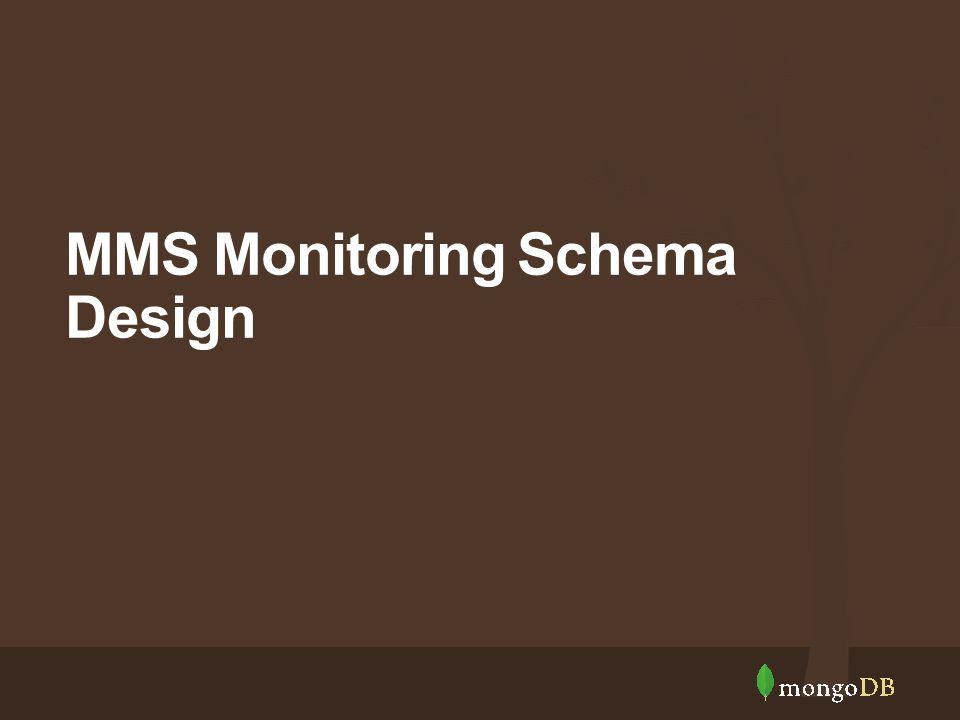 MMS Monitoring Schema Design