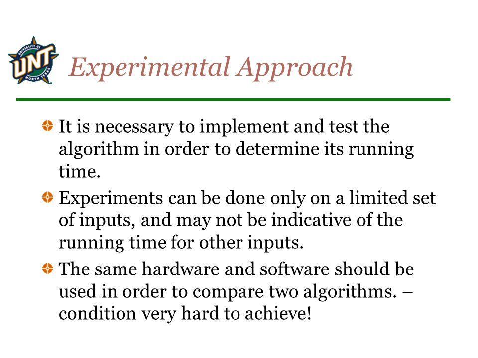 Experimental Approach