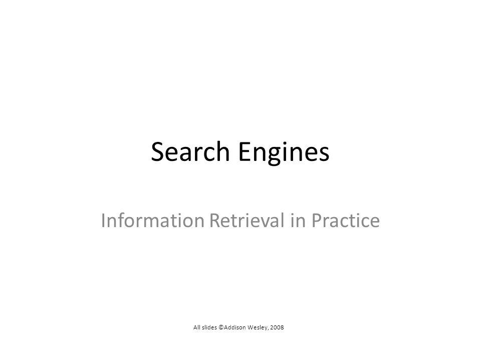 Information Retrieval in Practice