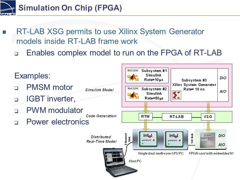 Simulation On Chip (FPGA)