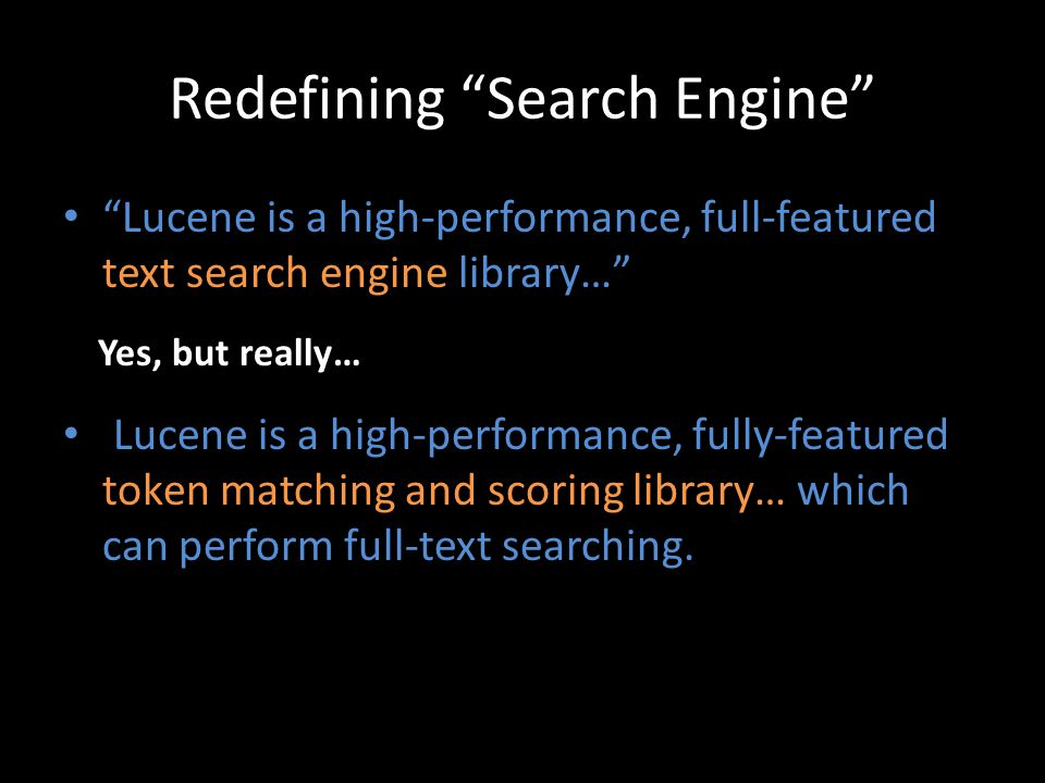 Redefining Search Engine