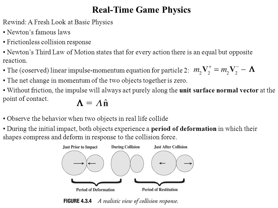 Real-Time Game Physics