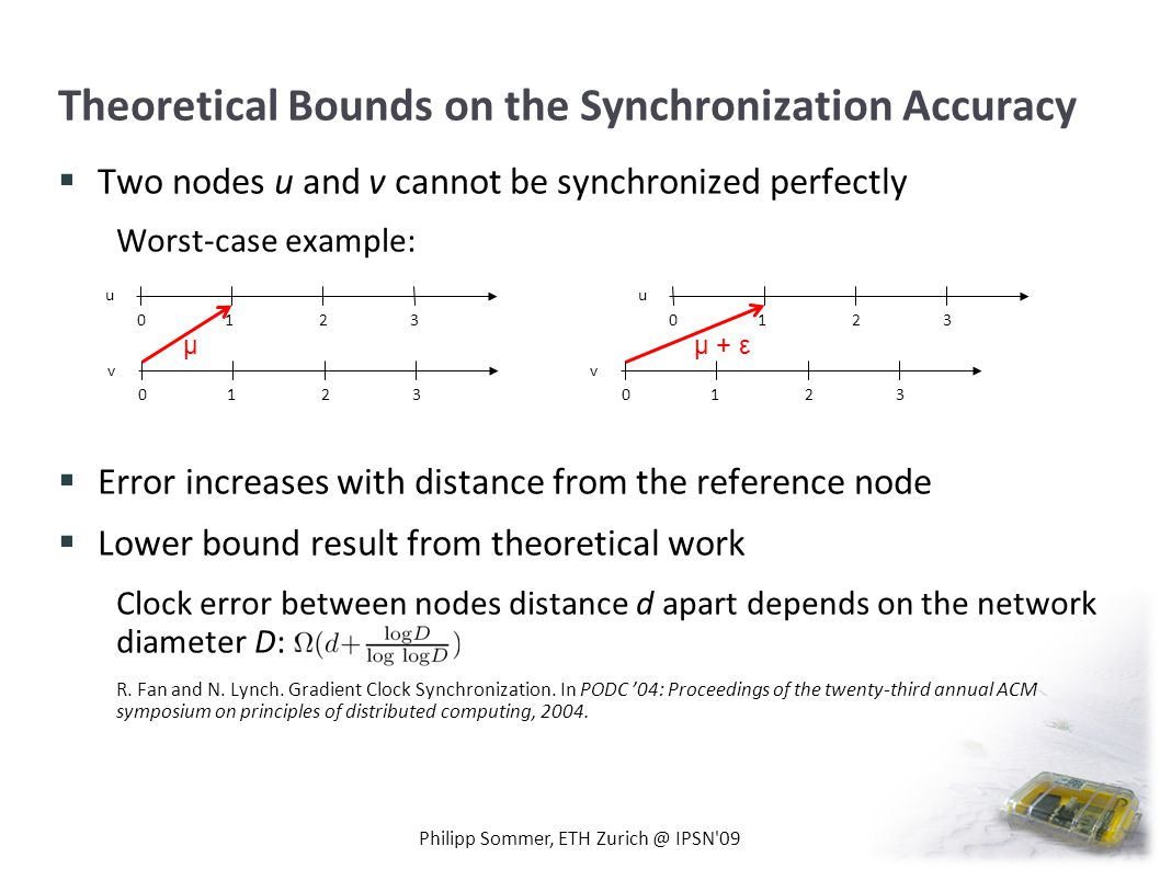 Theoretical Bounds on the Synchronization Accuracy