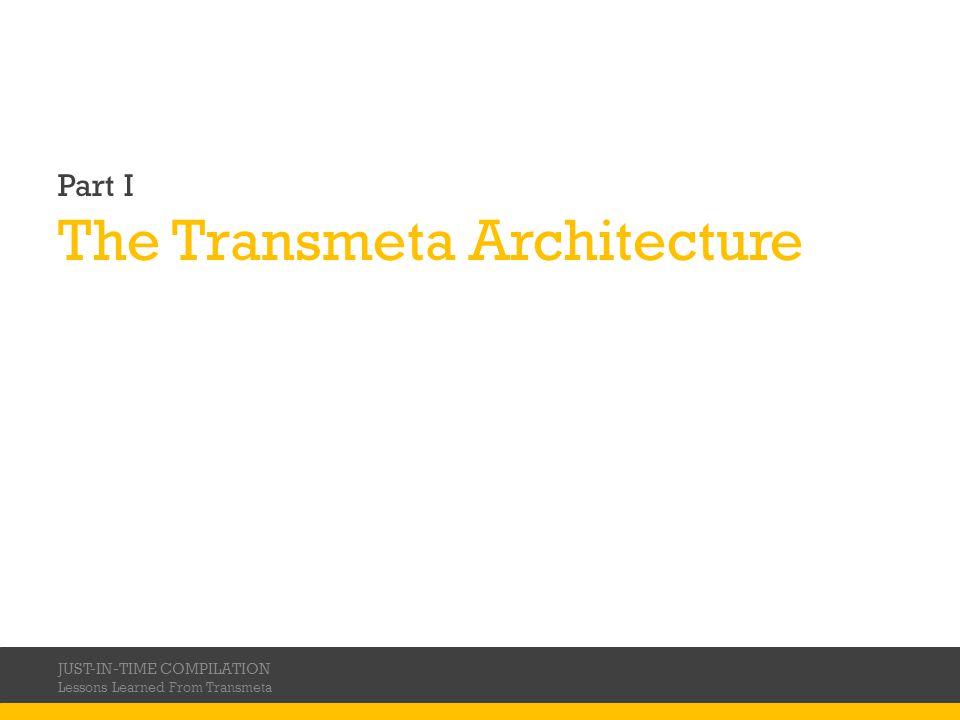 The Transmeta Architecture