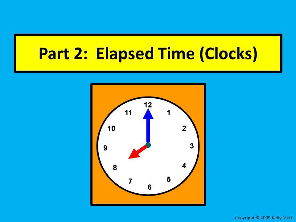 Part 2: Elapsed Time (Clocks)