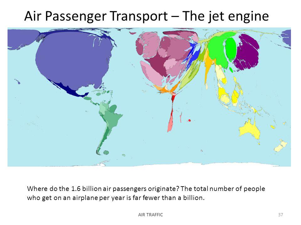 Air Passenger Transport – The jet engine